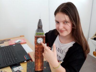 Gap Collège de Fontreyne Je remets Big Ben à l'heure :)