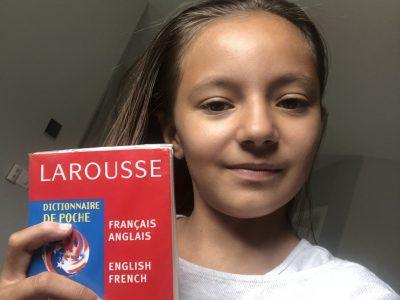 le Puy en Velay st Louis  moi et mon dictionnaire d'anglais