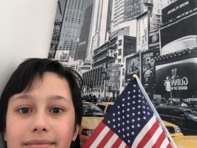 DRAVEIL, COLLÈGE NOTRE-DAME I love New York !
