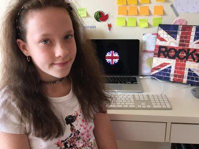 -THE BRITISH FLAG- Bonjour moi c'est Uljana et j'adore l'anglais c'est ma matière préféré !   Niort ,ANTOINE DE SAINT-EXUPERIE