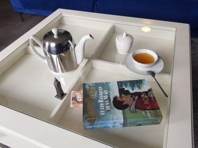 Champigny-sur-Marne collège Henry Rol Tanguy  une tasse de thé et un livre : de quoi s'occuper a la maison