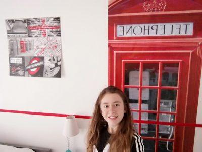 NIEPPE - COLLEGE SAINT MARTIN  J'habite en France mais quand je vais dans ma chambre je suis téléportée à Londres   MN