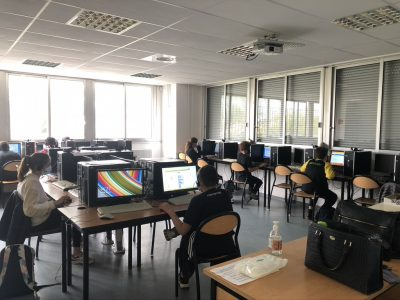 LAMBESC Jean Guehenno in May 21 (demi-jauge instaurée pour classes de 4e, 3e, en PACA). Here are some pictures of Group n°10. We did it !! Thank you to all our pupils !