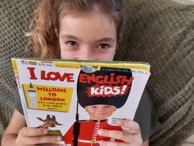 "Dol de Bretagne ,"" I love English and I love my English teacher !"""
