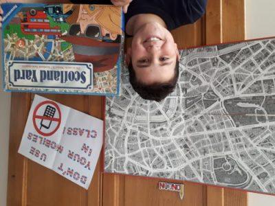 Voiron (38500), collège St Joseph, classe de 6ème B Gabriel ENTRAYGUES, Soyez un vrai détective comme Sherlock Holmes et découvrez Londres comme vous ne l'avez jamais vu !