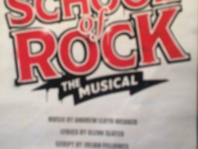 It's a flyer of school of rock