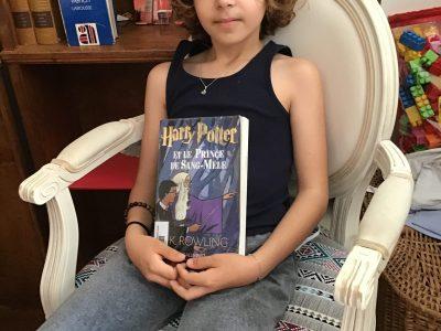 Toulouse collège Saint Louis  J'ai pris en photo un livre Harry Potter J'ai pris Harry Potter car sa été créé en Angleterre il y a aussi la bas les studios Harry Potter
