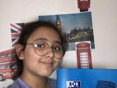 La ville : paris  Nom du collège : la Bruyère Sainte Isabelle Pour la photo j'ai choisi de prendre mon cahier d'anglais comme élément  car c'est la première  chose qui met passer a la tête.