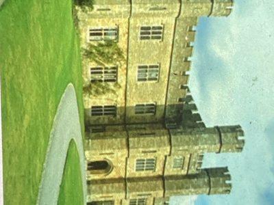 Grigny , collège Émile malfroy , château de Leeds situé dans le Kent dans le sud d'Angleterre date du 12è siècle