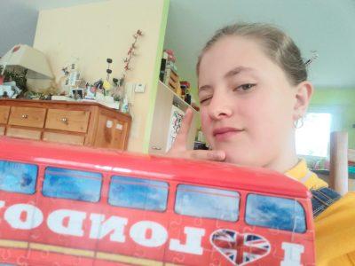 La Monnerie le Montel ;collège de la Durolle  Mon rêve est de voyagé dans un bus Anglais.