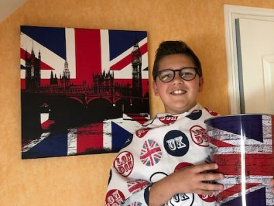 "Artenay Collège Jean Moulin. ""I love England"""