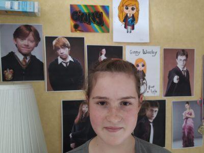 Verny - Collège Nelson Mandela   J'ai choisis mes poster Harry Potter car c'est une saga anglaise