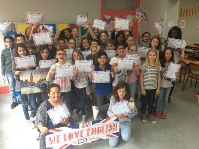 """VIENNE - Institution Saint-Charles - Classe de 6ème 1 - Bravo à tous les élèves qui ont participé cette année! Un grand merci à ceux qui organisent """"The Big Challenge"""" !"""