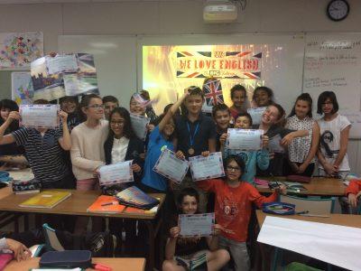 Vienne - Institution Saint-Charles - Bravo aux élèves de 6ème 4 et merci aux organisateurs du concours !