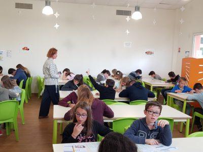 Le jeudi 9 mai, 40 élèves toutes classes confondues, ont passé le Concours en Anglais the Big Challenge au Collège Ste Claire Nérac.