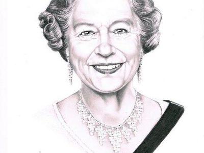 ST-ETIENNE  COLLEGE JULES VALES La Reine Elizabeth 2 a fait une grosse parti de l'histoire de la langue anglaise