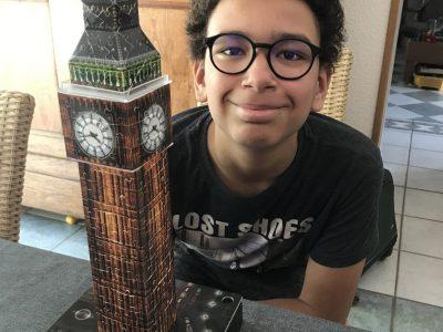 Collège Mathy Luxeuil les Bains super le big challenge avec Big Ben !