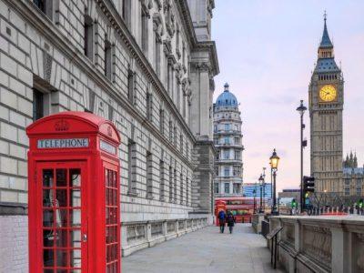 Collège Saint Paul à Rezé (44) Photo qui représente le symbole de l'Angleterre (Londres)