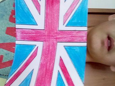 Loyettes St Louis j ai un dessin un dessin du drapeau de l Aglettere car je n avais pas d objet