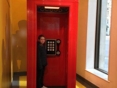 Cabine téléphonique Angleterre.
