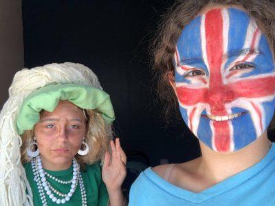 Laval Fernand Puech Petit selfie avec la reine Elisabeth II !!