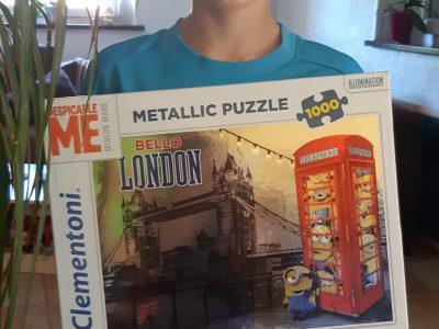 J'adore l'Angleterre et pour Noël j'ai reçu ce puzzle  Je vais au Collège Saint Laurent de La Bresse