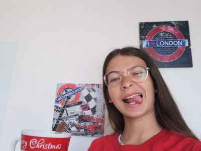 I study at Notre Dame du Bel Air middle School in Monfort L'Amaury.