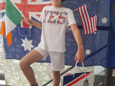 MASSAC SERAN Collège Ste Germaine   I love English and I would like to go to the United States of America or Australia !! I've been to the UK a couple of times. I think you can see it on the picture !!
