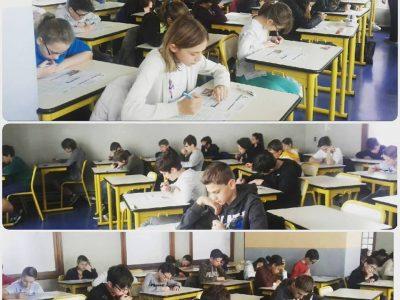 Institution Notre-Dame à Toulon. Félicitations aux 110 élèves pour avoir relevé le défi!