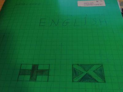 Sainte Maure de Touraine, Collège Celestin Freinet Voici la photo de mon cahier d'anglais de cours