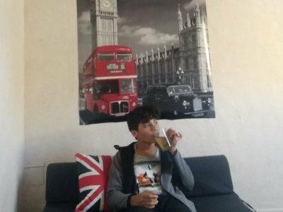 Rouen Camille Claudel me voici avec une tasse de thé qui rappelle Londres
