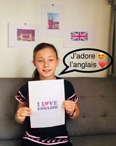 """Besse-sur issole , Frédérique Montenard , """"ANGLAIS"""" n'est pas un simple mot , c'est une langue formidable ,J'aime la vie ,J'aime l'Anglais"""