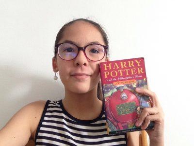 Saint Denis,Collège de Bois de Nèfles. Fan d'Harry Potter... et de lecture!