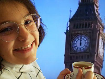 Ambarès et Lagrave - collège Claude Massé  Visiting London for a cup of tea !