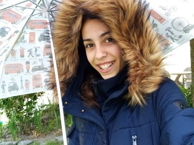ANGERS collège Chevreul Singing in the rain ! Sarah Jhahfi