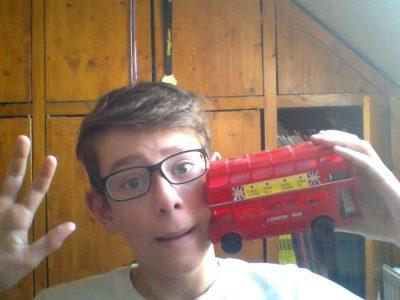 Help me, a bus ran into my head...  Valenciennes Sainte-Marie