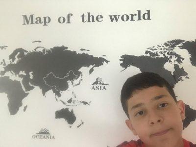 Choisy le roi. Collège jules valles  Pour apprendre plus vite la carte du monde.