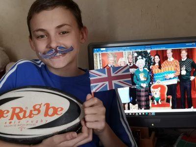 Soisy Sous Montmorency , collège Albert SCHWEITZER.  Pour moi ce qui représente l'Angleterre  c'est : la Famille Royale, le drapeau et le rugby, sans oublier les chiens de la Reine...