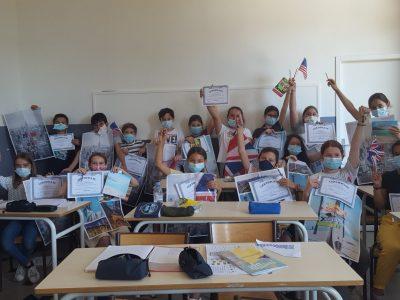 Félicitations aux participants de la classe de 6ème2 de l'Institution Notre-Dame à Toulon!