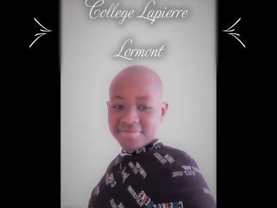 College Lapierre Lormont33310 Voilà une photo sur laquelle je porte un t-shirt d'une marque anglaise