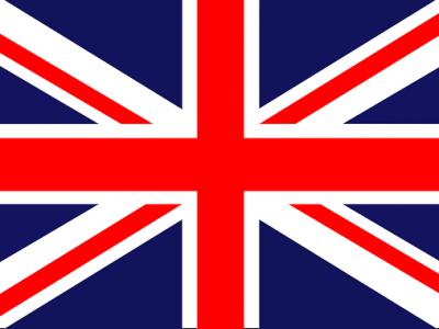 Le Puy En Velay St. Jaque de Compostelle  Ceci n'est pas un sel-fit mais un photo du drapeau du Royaume-Unie