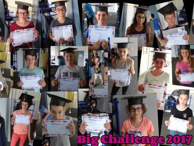 La classe de 5ème du Collège Calmette et Guérin à Ecueillé (36) fière de ses résultats!