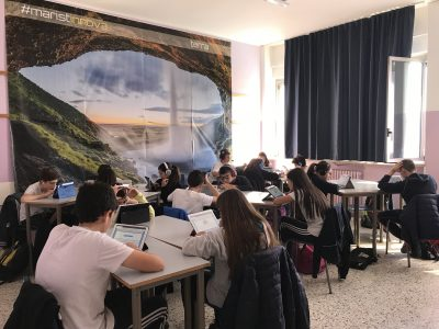Scuola Fratelli Maristi, Cesano Maderno (MB) Class 2B really doing well!