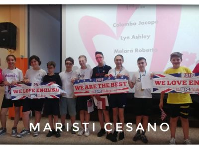 And our winners are... these great students!  Scuola Media Fratelli Maristi, Cesano Maderno (MB)