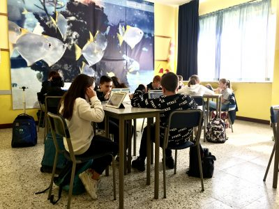 Scuola Fratelli Maristi, Cesano Maderno (MB) Class 1B enjoying the Challenge