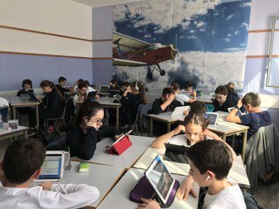 Scuola Fratelli Maristi, Cesano Maderno (MB) Class 2A enjoying the Challenge