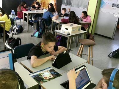 Scuola Fratelli Maristi, Cesano Maderno (MB) Class 1A enjoying the Challenge