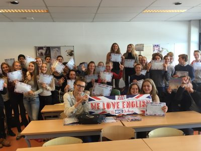 RSG Broklede College Breukelen Leerlingen zijn trots en enthousiast over hun deelname!