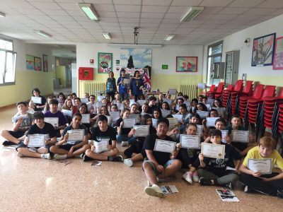 Prizes, prizes, prizes! At Aldo Manuzio school , Mestre