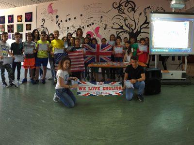 """Primo Istituto Comprensivo - scuola Secondaria I grado """"Albani Roccella""""- Gela (Sicilia)  We love The Big Challenge and we love English!"""
